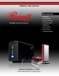 Rosewill RCW-H9013 User Manual