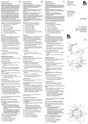 Berker Insert Docking station Q.1, Q.3 Polar white 28836089 28836089 Data Sheet