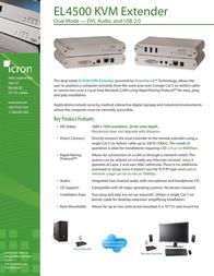 Icron EL4500 00-00290 Leaflet