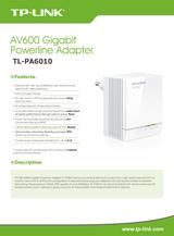 TP-LINK AV600 TL-PA6010 Leaflet