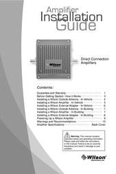 Wilson Electronics 811200 User Manual