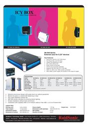 Nanopoint USB Aluminium Case SILVER IB-550U-BL Leaflet