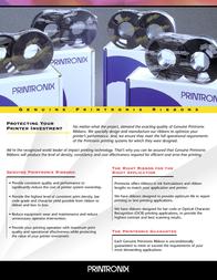 Printronix P5000 Ribbons 107675-005 User Manual