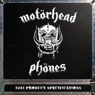Motörheadphönes Iron Fist 33008 Manual Do Utilizador