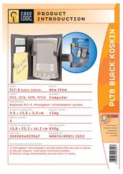 Case Logic Strongman PDA Case - Black PLT8 Leaflet