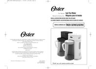Oster BVST-TM20 User Manual