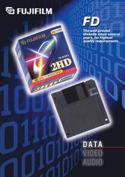 "Fujifilm MF2HD/F 1.44MB 3.5"" Black 10pk 13955 Leaflet"