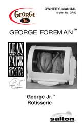 George Foreman GR82 User Manual
