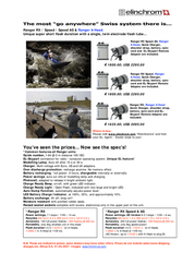 Elinchrom Ranger RX Speed AS - A Head - Pro Set E10287 User Manual
