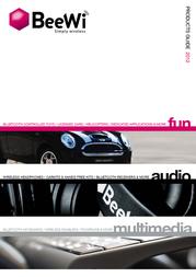 Beewi Universal Bluetooth Pocket BBK201-A0 User Manual