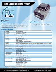 EC Line EC-PM-520 Leaflet
