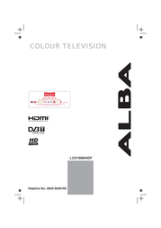 Alba LCD19880HDF User Manual