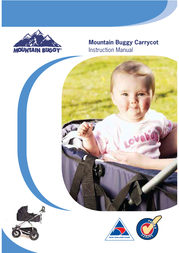 Mountain Buggy Carrycot User Manual