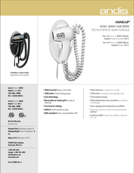 Andis HD-5 30970 Leaflet
