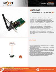 Nexxt Solutions APLDT300U1 Leaflet