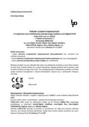 Ldt S-DEC-4-DC Magnetic item decoder S-DEC-4-DC S-DEC-4-DC Data Sheet