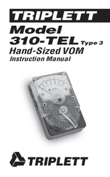 Triplett 310 3018 User Manual