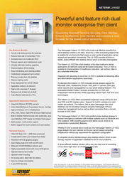Netvoyager LX-1022 LX1022 Leaflet