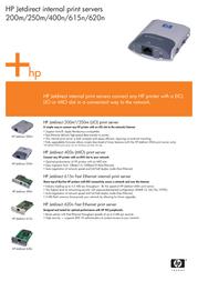 HP Jetdirect 615n J6057A Leaflet