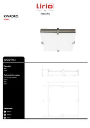 Lirio by Philips KWADRO 32505/17/LI Leaflet