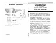 Crimestopper cs-707mx Installation Instruction