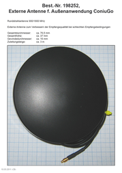 ConiuGo 300303310 GSM Antenna MMCX connector 300303310 Information Guide