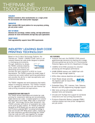 Printonix T5206R T5206-0301-000 Leaflet