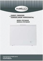 Premium PFR70800M Owner's Manual