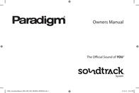 Paradigm SOUNDTRACK User Manual