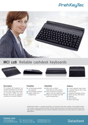 PrehKeyTec MCI 128 90328-600/1800 Leaflet