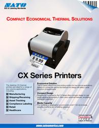 SATO CX400 Specification Guide
