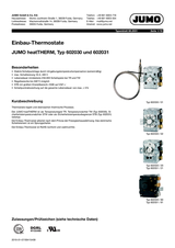Jumo 602030//02 Thermostat