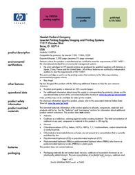 HP 92A C4092A User Manual