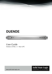 Solid State Logic DUENDE User Manual