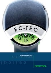 Festool T18+3 Li 3.0 Plus 8717825460002 User Manual