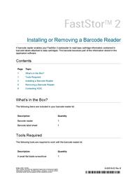 ADIC FastStor 2 User Manual
