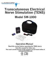Lumiscope Sander sw-1000 User Manual