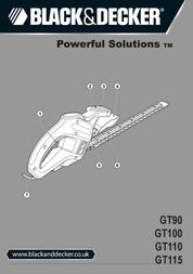 Black & Decker GT110 User Manual