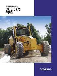 Volvo G970 User Manual