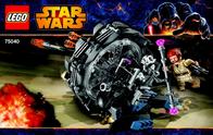 Lego Starwars LEGO STAR WARS 75040 GRIEVOUS WHEEL BIKE 75040 User Manual