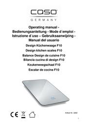 Caso F10 3260 Data Sheet