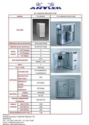 Antler PC - 302 450W PC302 N/P 450W Leaflet