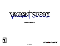 games-sony-ps--psx vagrant story Manuale Utente