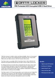 Amacom Datalocker 1TB AMA-DELL-DLENT-1000 Leaflet