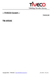 Tiveco TM-AR346 Leaflet