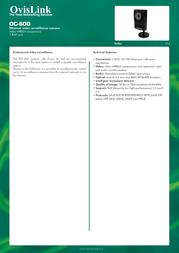 OvisLink OC-600 OC600 Leaflet