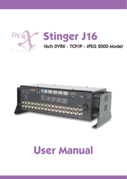 Stinger JPEG 2000 User Manual