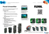 Fluval Internal aquarium filter A470 A470 Data Sheet