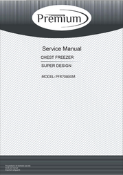 Premium PFR70800M Service Manual