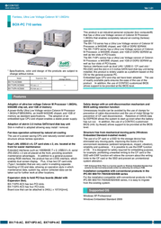 Contec BX710P2-AC User Manual